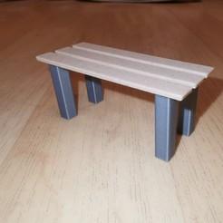 IMG_20200830_155954.jpg Download STL file Parkbank / Park bench • 3D printable model, RH-creations