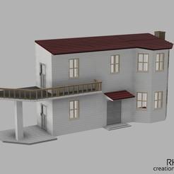 Puppenhaus_1zu14_Modell-1-v53_vorne-links.jpg Télécharger fichier STL Puppenhaus / maison de poupée 1:14 • Objet pour imprimante 3D, RH-creations
