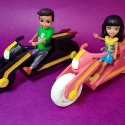 20200512_143911.jpg Download STL file Polly Pocket Bike • 3D print design, RDFTW