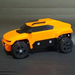 Download STL files Bastion-3D Printed Arduino RC Car, RDFTW