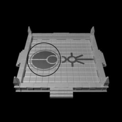 Download 3D printer files Gothic Dice Tray Insert Half #4, RedPhoenix
