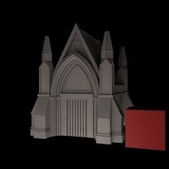 Mausoleum1.jpg Download STL file Mausoleum 40k • 3D printer template, RedPhoenix