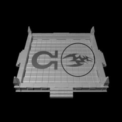 Download 3D print files Gothic Dice Tray Insert Half #6, RedPhoenix