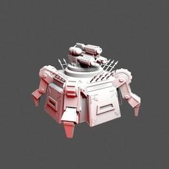 Download 3D printing templates Chaos Deathdrop Bunker, RedPhoenix