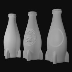 nuka product render.png Télécharger fichier STL Retombées 4 Nuka Cola • Objet à imprimer en 3D, CyrylXI