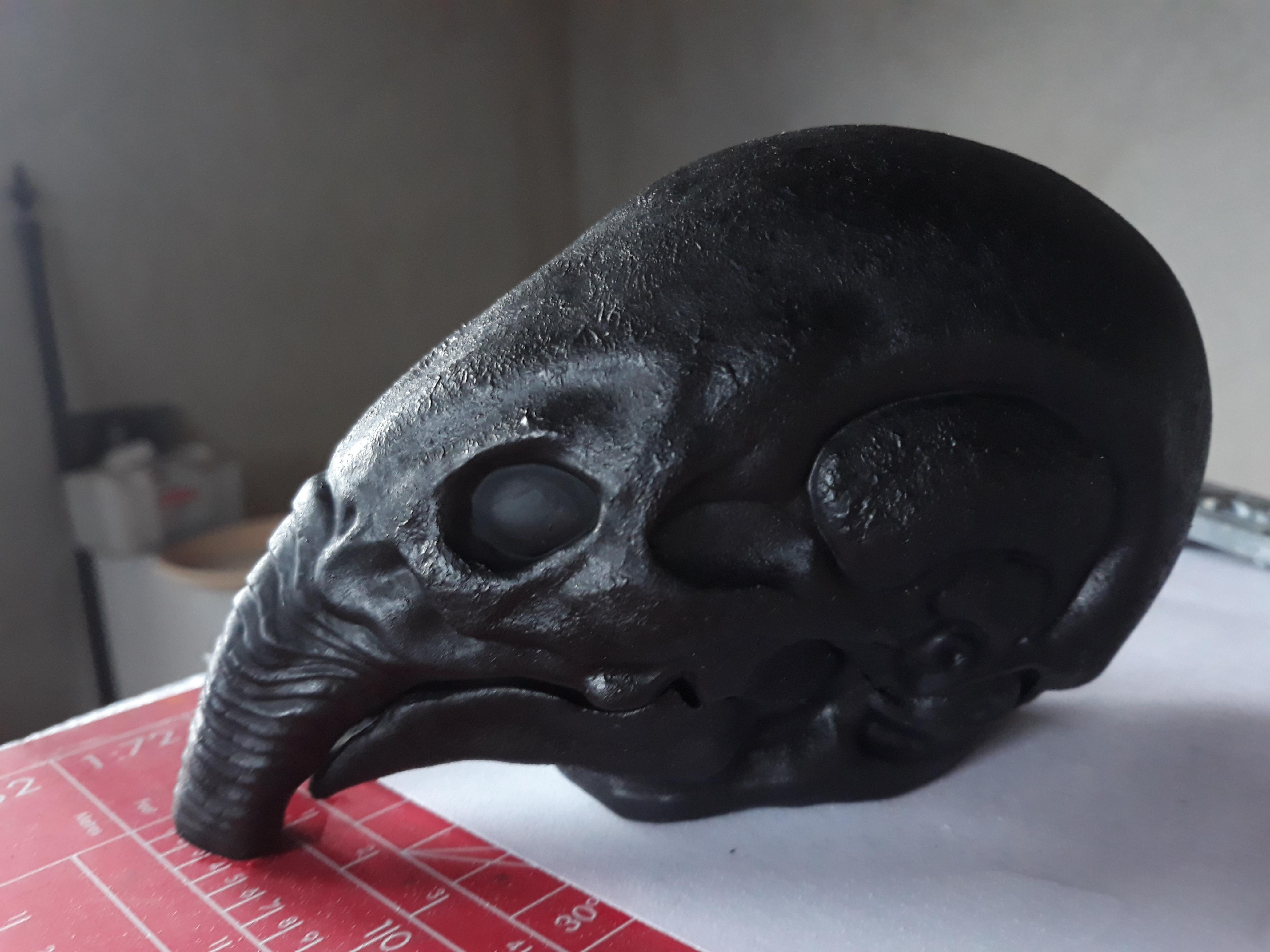 20200312_152913.jpg Download STL file Prometheus Engineer head with Space Jockey Helmet • 3D printer template, CyrylXI