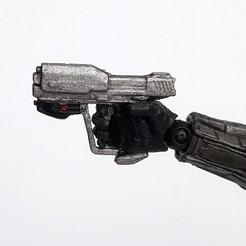 halo reach magnum.jpg Download STL file Halo Reach Magnum figure accesory • 3D printer template, CyrylXI