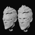 heads.png Download STL file Deus Ex Human Revolution Adam Jensen Bust • 3D printing model, CyrylXI