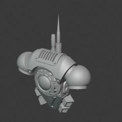Télécharger fichier STL gratuit Shadow Coms Back Pack • Plan pour impression 3D, ajaxthehugebeatmaker