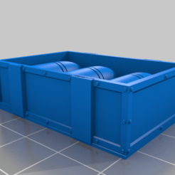 Crate_Shell_Full.png Download free STL file Imperial Bombard Shells and Crate • 3D printable model, HB-3D