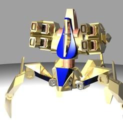 render 4.jpg Download STL file Immortal Starcraft • 3D printing design, victordeoz72
