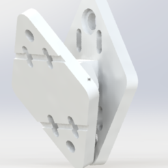 Download 3D printing designs Universal speaker wall mount. Speaker wall mount., SET1995
