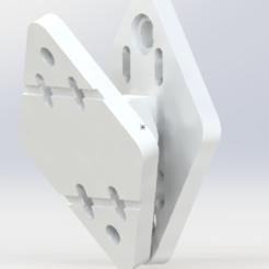 Captura.PNG Download STL file Universal speaker wall mount. Speaker wall mount. • Design to 3D print, SET1995