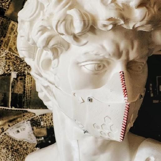 Descargar archivo 3D gratis Máscara Covid-19, gaetanbobichon2