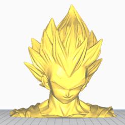 Impresiones 3D Lámpara Vegeta, bromakers3d