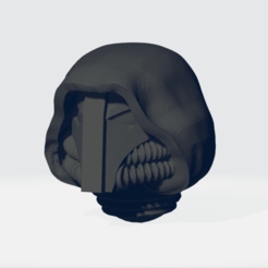 Download STL file Hooded Gloomy Angels Helmets • 3D printer design, Tux_M