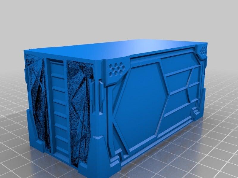 a4ef2657fb9593595f1c6b0e85415c17.png Download free STL file VMT-inspired Industrial Container remix • 3D print design, Tux_M
