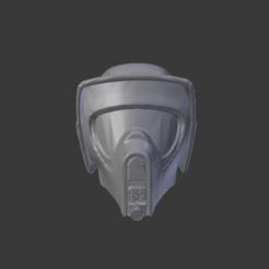 1.PNG Download OBJ file Star Wars, Scout Trooper Helmet • 3D print object, Centr3D