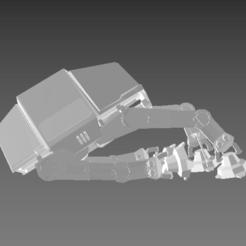 Télécharger modèle 3D gratuit Star Wars, AT-AT Walker cloué au sol, Centr3D