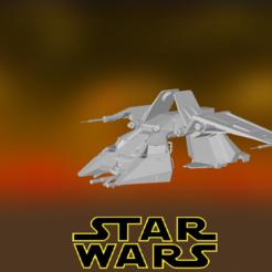 0.PNG Download STL file Star Wars , Imperial Slave Transport • 3D printer design, Centr3D