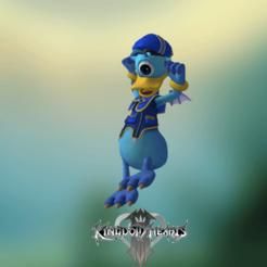 0.png Download STL file Kingdom Hearts, Donald Duck (monster) • 3D printing model, Centr3D