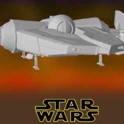 0.PNG Download STL file Star Wars , Rogue Shadow II • 3D printer model, Centr3D