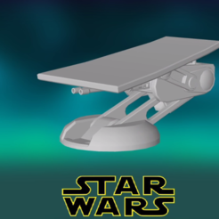 0.PNG Download free STL file Star Wars , Imperial Wall Cannon • 3D printer template, Centr3D