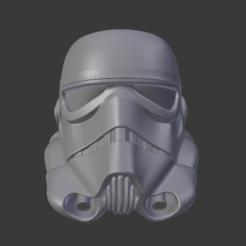 1.PNG Descargar archivo OBJ La Guerra de las Galaxias, Casco de soldado de asalto • Diseño para imprimir en 3D, Centr3D