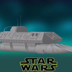 0.PNG Download STL file Star Wars , Ugnaught Shuttlecraft • 3D printable model, Centr3D