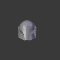 1.PNG Download OBJ file Star Wars, Mandalorian Helmet • 3D printer object, Centr3D