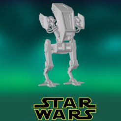 0.PNG Download STL file Star Wars , Missile Walker • 3D print object, Centr3D
