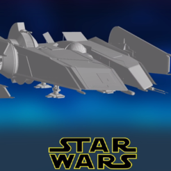 0.PNG Download STL file Star Wars , Rogue Shadow • 3D printable model, Centr3D