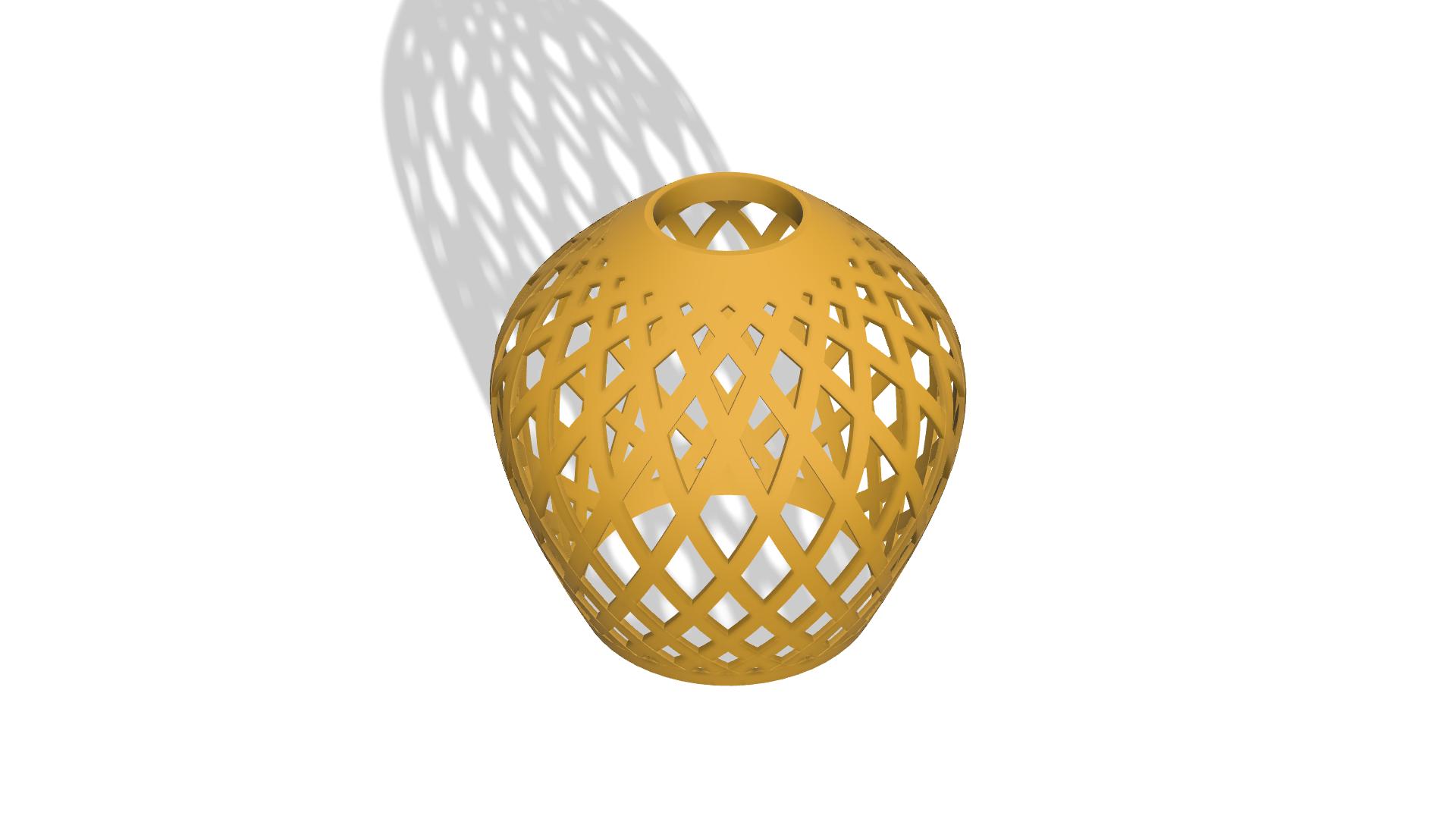 2.png Download free STL file Geometrical lamp • 3D print template, sjgutierrez9