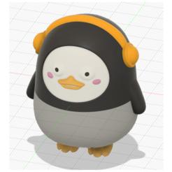 Descargar archivo 3D mini pengsu, OTL