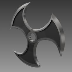 Descargar archivo 3D El Shuriken de Zed [Liga de Leyendas], Tr00