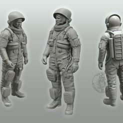 Download free 3D printer designs Advanced Crew Escape Suit (Pumpkin Suit), MaxGrueter