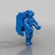 Descargar modelo 3D gratis Astronauta de la NASA con unidad de maniobras tripuladas, MaxGrueter