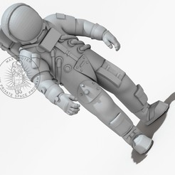 Bildname0036.jpg Download free STL file Apollo Astronaut (The Original) • 3D printable model, MaxGrueter