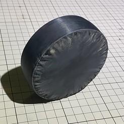 IMG_2632.jpg Télécharger fichier OBJ Couverture de la roue de secours 1:10 RC • Modèle à imprimer en 3D, Waffett_RC