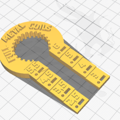 Download 3D print files 24MM VANISHING TONG WRENCH WITH TRIMMER, FullMetal