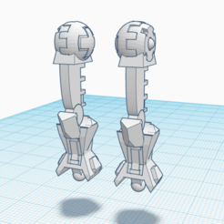 Legs.png Download free STL file XV-8 Alternate longer legs • 3D printable template, El_Mutanto