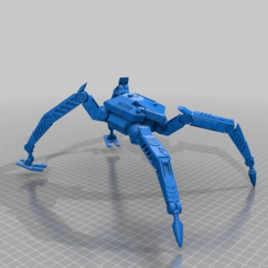 Download free 3D printing templates PL-062 Walker Heavy Tank, El_Mutanto
