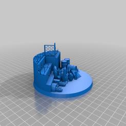 Impresiones 3D gratis Gran base escénica, El_Mutanto