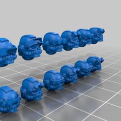 Descargar modelos 3D gratis Bits de conversión de NVG del Guerrero Espacial., El_Mutanto
