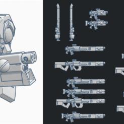 Descargar diseños 3D gratis La mega mochila del arma Gue'Ron'Vesa, El_Mutanto