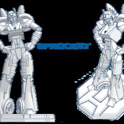 ________Sprocket.png Download free STL file Transformer OC - Sprocket [Complete] • 3D printing model, El_Mutanto
