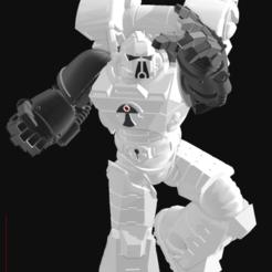 Descargar Modelos 3D para imprimir gratis Piernas de Gue'Ron'Vesa, El_Mutanto