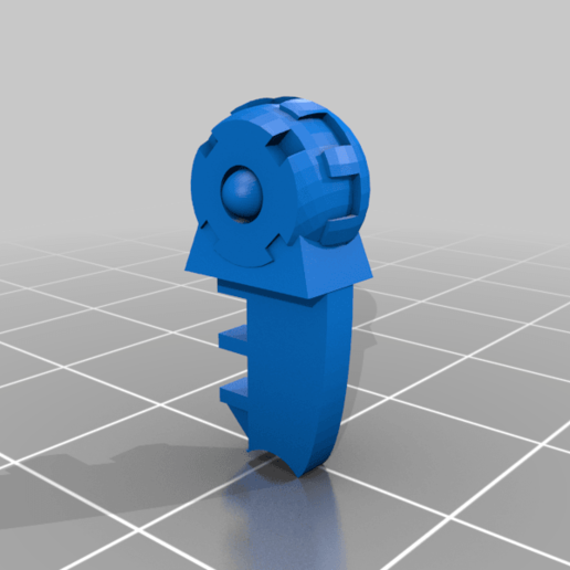 XV8_parts_thigh_right.png Download free STL file XV-8 Alternate longer legs • 3D printable template, El_Mutanto