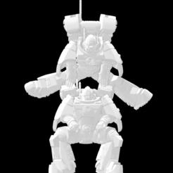 Impresiones 3D gratis Juego de piernas Gue'Ron'Vesa - Poses adicionales, El_Mutanto