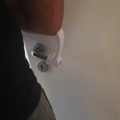 Descargar STL gratis Abridor de puerta a codo Covid-19, javac168